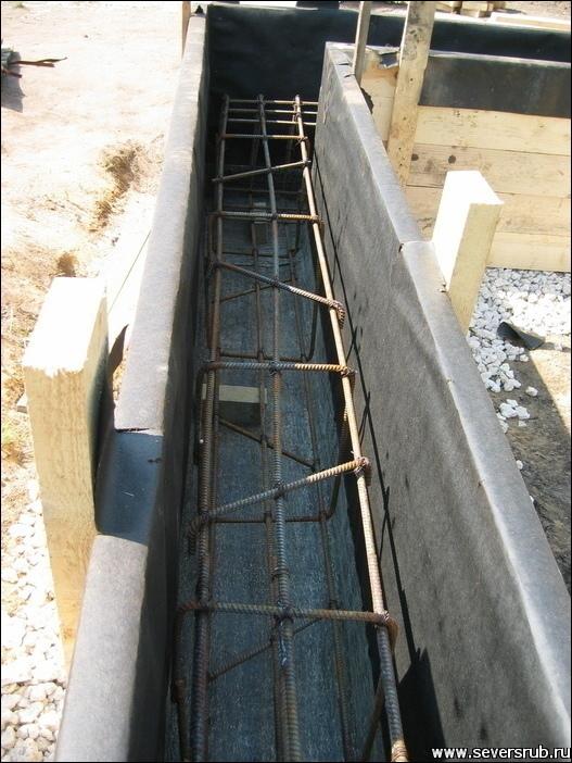 Autocad линия гидроизоляции