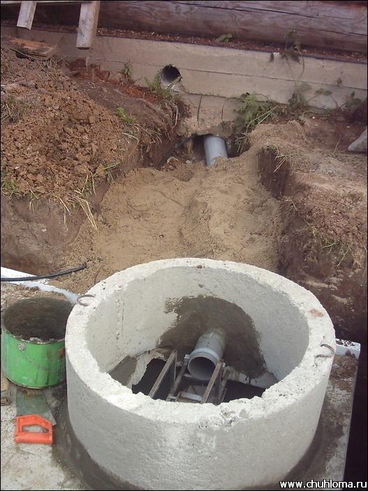 Как правильно сделать канализацию для бани 367